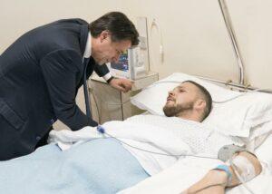 Carabiniere ferito a Cagnano Varano: «Perdono? Adesso non saprei»